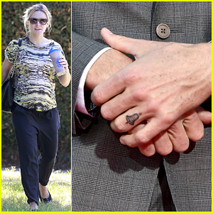 Kristen Bell's Husband Dax Shepard Got a Bell Tattoo on His Ring Finger in Honor of His Wife!