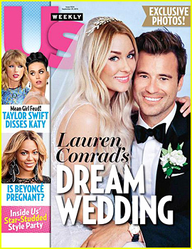 Lauren Conrad's Wedding Dress Revealed in 1st Wedding Photo to William Tell - See it Here!