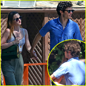 Leighton Meester & Adam Brody Share Sweet Embrace During Labor Day Weekend Getaway