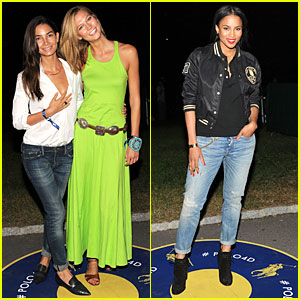 Lily Aldridge & Karlie Kloss Are Classic Chic Models at Polo Ralph Lauren Fashion Show