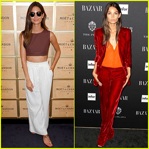 Lily Aldridge Knows How to Dress for Day & Night NYFW Events!
