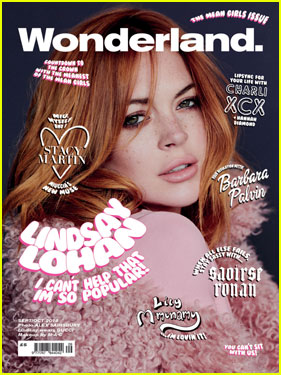 Lindsay Lohan Is Pretty in Pink For 'Wonderland' Magazine