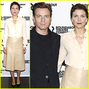 Maggie Gyllenhaal & Ewan McGregor Get 'Real Thing' Going at Photo Call