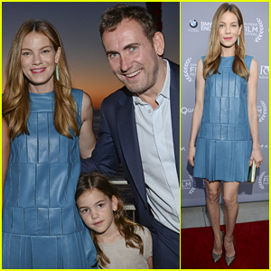 Michelle Monaghan Brings Husband Peter White & Young Daughter Willow to 'Fort Bliss' Screening