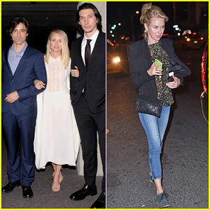 Naomi Watts Is Lovely in White for 'While We're Young' New York Premiere with Ben Stiller & Adam Driver!