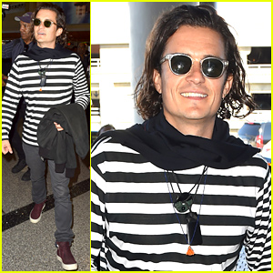 Orlando Bloom Says He's Very Lucky That Flynn is An Expert Traveler!