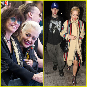 Rita Ora Stays Close to New Beau Ricky Hilfiger in London!