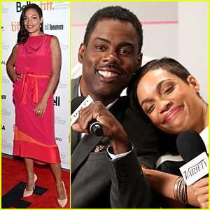 Chris Rock Jokes He Wrote 'Top Five' to Make Out With Rosario Dawson!