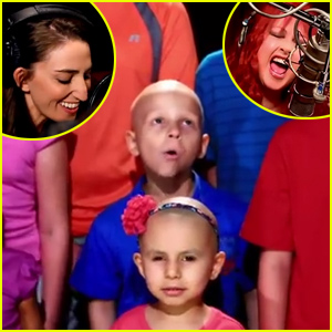 Sara Bareilles, Cyndi Lauper, & a Group of Brave Kids Fighting Cancer Star in 'Truly Brave' Music Video - Watch Now
