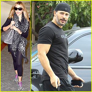 Sofia Vergara & Joe Manganiello Have Long Distance Relationship For One Week