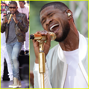 Usher Teases One Lucky Fan Will Get Kissed On His Upcoming Tour!