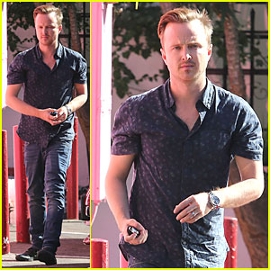 Aaron Paul Will Work With Jamie Dornan On '9th Life Of Louis Drax'