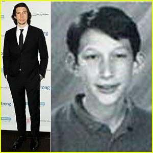 Adam Driver's Yearbook Photo Makes Us Love Him Even More!