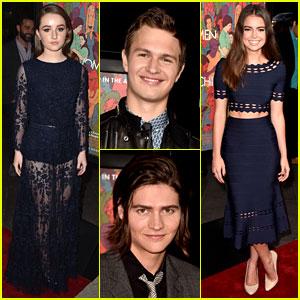 Ansel Elgort & Kaitlyn Dever Join the Kids of 'Men, Women, & Children' at LA Premiere!