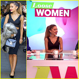 Ariana Grande is Happy to Meet Fans Even Though She's Not Feeling Well!