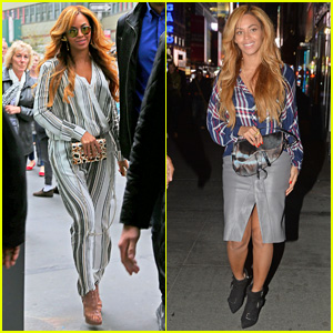 Beyonce Gets Back to Business After Date with Jay Z