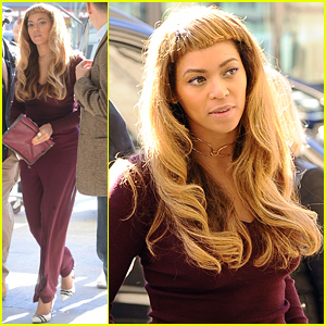 Beyonce Debuts New Hair With Short Bangs See The Look