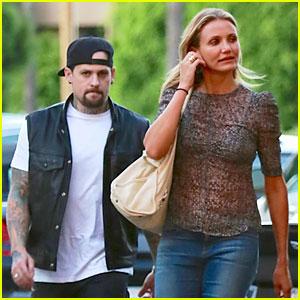 Cameron Diaz & Benji Madden Engagement Rumors are Swirling