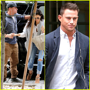 Channing Tatum Keeps His Clothes On for 'Magic Mike' Break