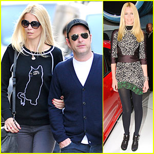 Claudia Schiffer & Husband Matthew Vaughn Are the Perfect Married Couple in London