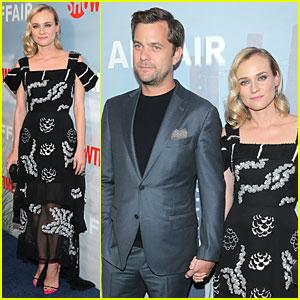 Diane Kruger & Joshua Jackson Hold Hands at 'The Affair' Premiere