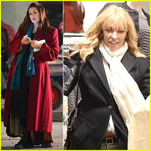 Drew Barrymore & Toni Collette 'Miss You Already' in London