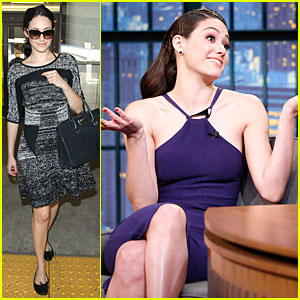 Emmy Rossum Talks Bathing Hilary Swank In 'You're Not You' - Watch Now!