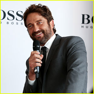 Gerard Butler Launches His New BOSS Bottled Campaign!