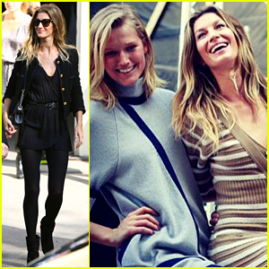 Gisele Bundchen Shares Backstage Pictures From Paris Fashion Week!
