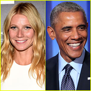 Gwyneth Paltrow Gushes to Obama: 'You're So Handsome'