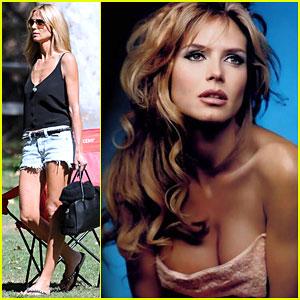 Heidi Klum Channels Brigitte Bardot in a Flashback Friday Picture!