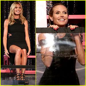 Heidi Klum Gets Dunked by Ellen DeGeneres - Watch Now!