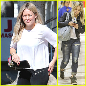 Hilary Duff Gets Back to Personal Business in Los Angeles