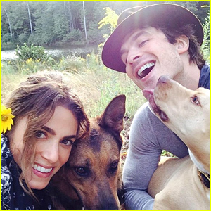 Ian Somerhalder Posts Adorable Pic with Girlfriend Nikki Reed, Praises Her Work: 'You Amaze Me'