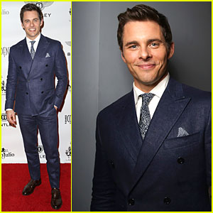James Marsden is Handsome Host at 'Los Angeles Confidential' Men's Issue Celebration