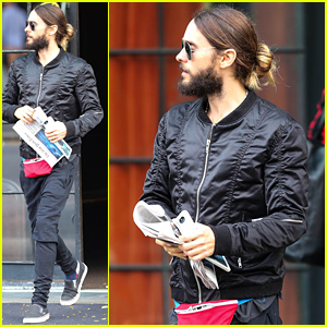 Jared Leto Steps Out with His Infamous Fanny Pack