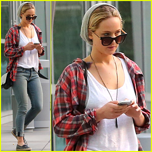 Jennifer Lawrence Goes Casual for Her Lat
