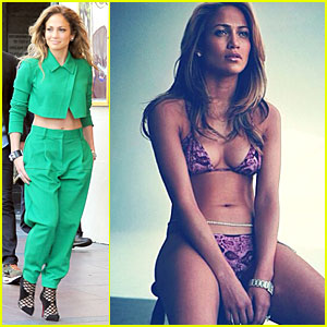 Jennifer Lopez Shows Off Her Sexy Bikini Body & Wishes It Was Still Summer