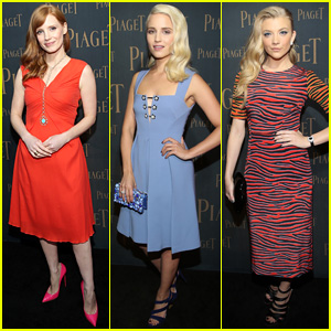 Jessica Chastain & Dianna Agron are Pretty for Extremely Piaget
