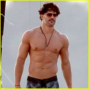 Joe Manganiello Goes Shirtless & Looks So Hot for 'Magic Mike XXL' Beach Scenes!