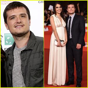 Josh Hutcherson & Girlfriend Claudia Traisac Premiere 'Escobar: Paradise Lost' in Rome!