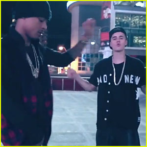 Justin Bieber & Khalil Put Their Dance Moves On Display in 'Playtime' Music Video - Watch Now!