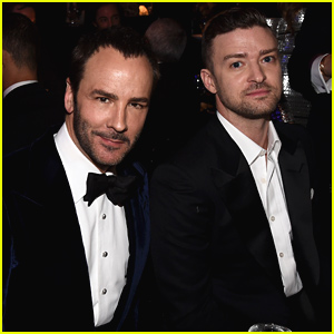 Justin Timberlake Makes Surprise Appearance at amfAR Gala 2014!