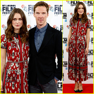 Keira Knightley & Benedict Cumberbatch Put On Their Best for 'The Imitation Game' London Press!