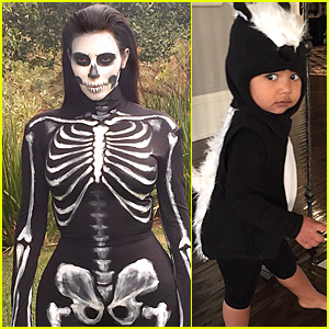 Kim Kardashian & North West Are Freaky & Cute on Halloween
