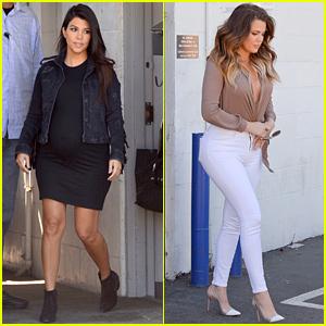 Kourtney & Khloe Kardashian Wish Kim Kardashian Happy Birthday with Throwback Pics!