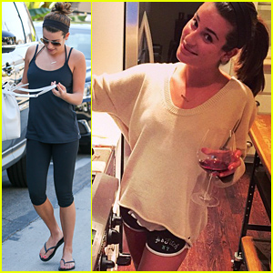Lea Michele Shows Off Her Amazing Cooking Skills!