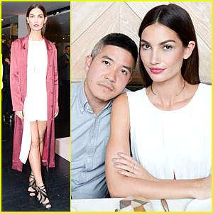 Lily Aldridge Helps Honor Thakoon at 10th Anniversary Celebration