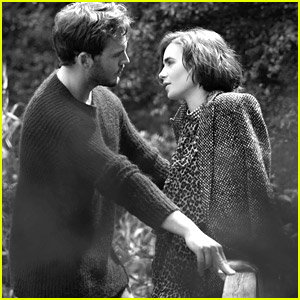 Lily Collins & Sam Claflin Get Romantic for Net-A-Porter's ...