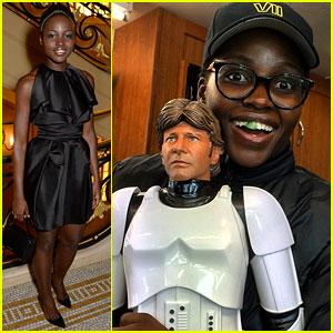 Lupita Nyong'o Geeks Out on 'Star Wars: Episode VII' Set!